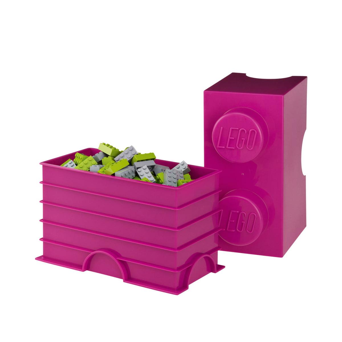 storage brick 2 by lego in our interior design shop. Black Bedroom Furniture Sets. Home Design Ideas