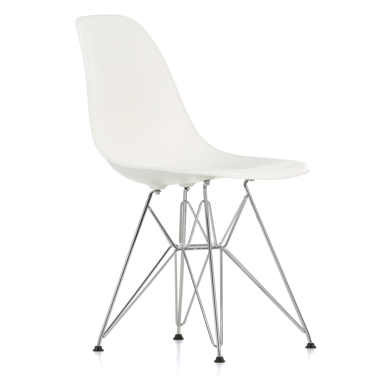 Vitra dsr eames plastic side chair in our shop for Eames chair vitra replica
