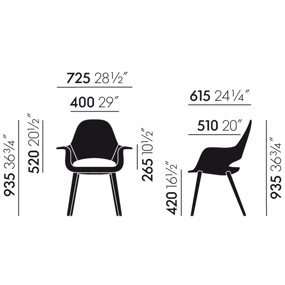 the organic conference chair by vitra