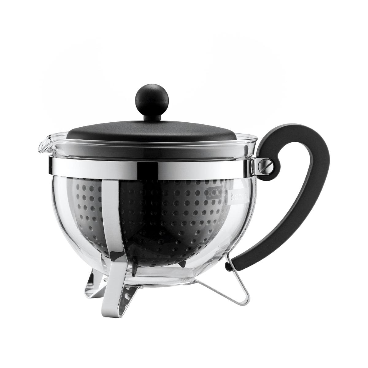 The Chambord Plastic Tea Maker By Bodum