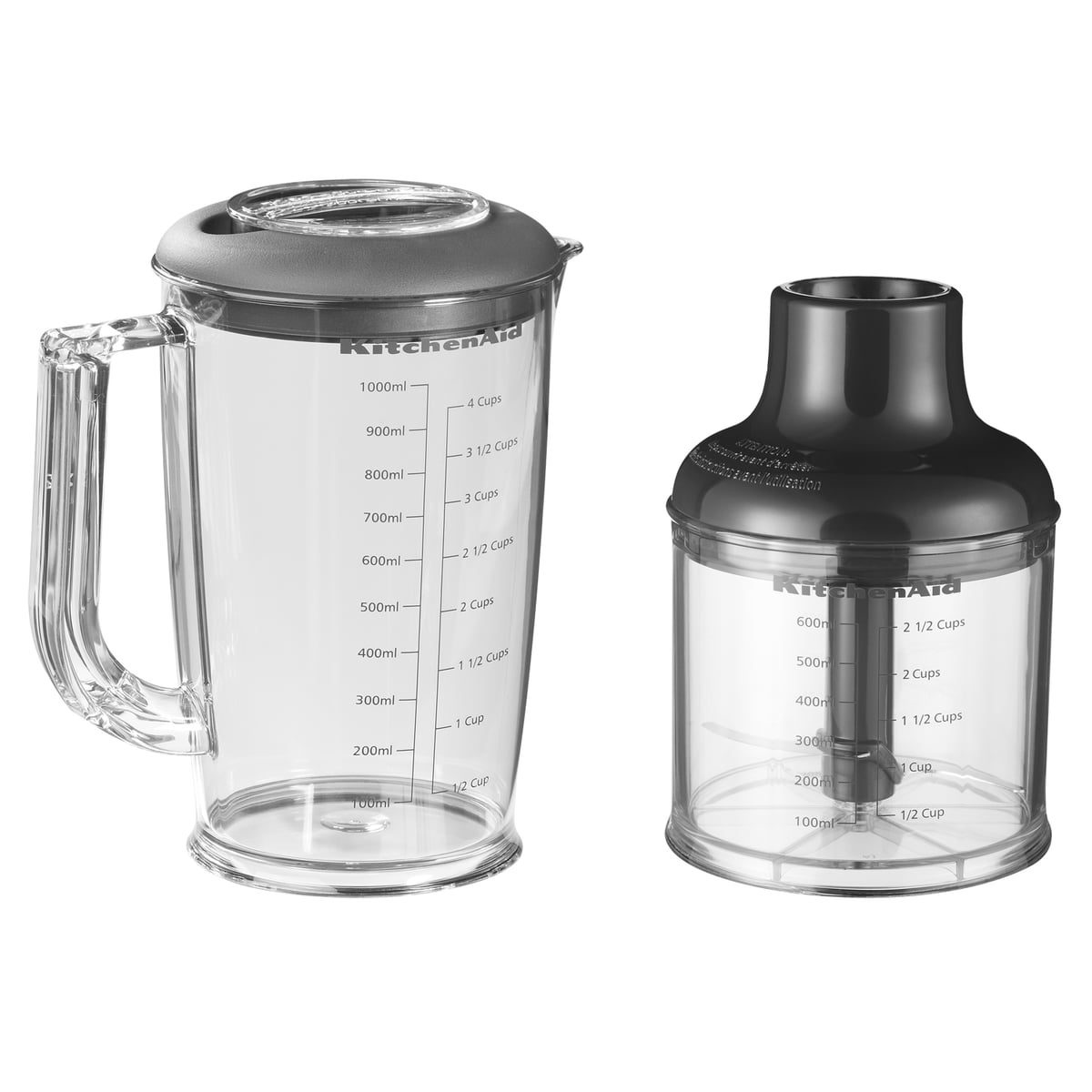 KitchenAid   Hand Blender With Accessories   Chopper, Container