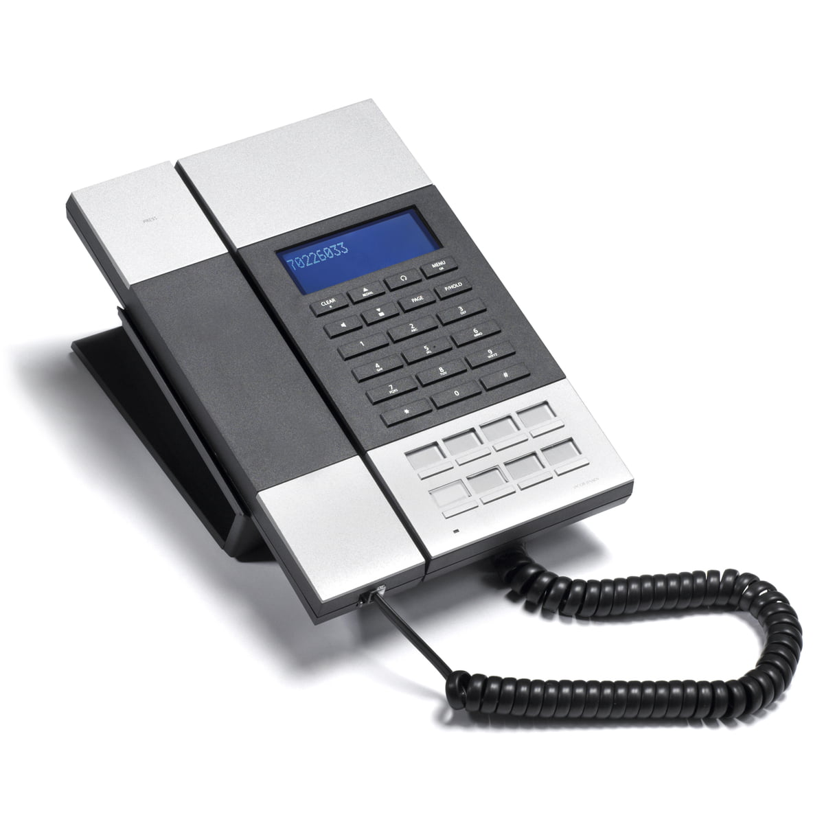 The Jacob Jensen Telephone 50 in the home design shop