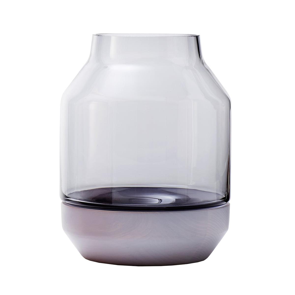 Einzigartig Vase Grau Beste Wahl Muuto - Elevated Vase, Grey