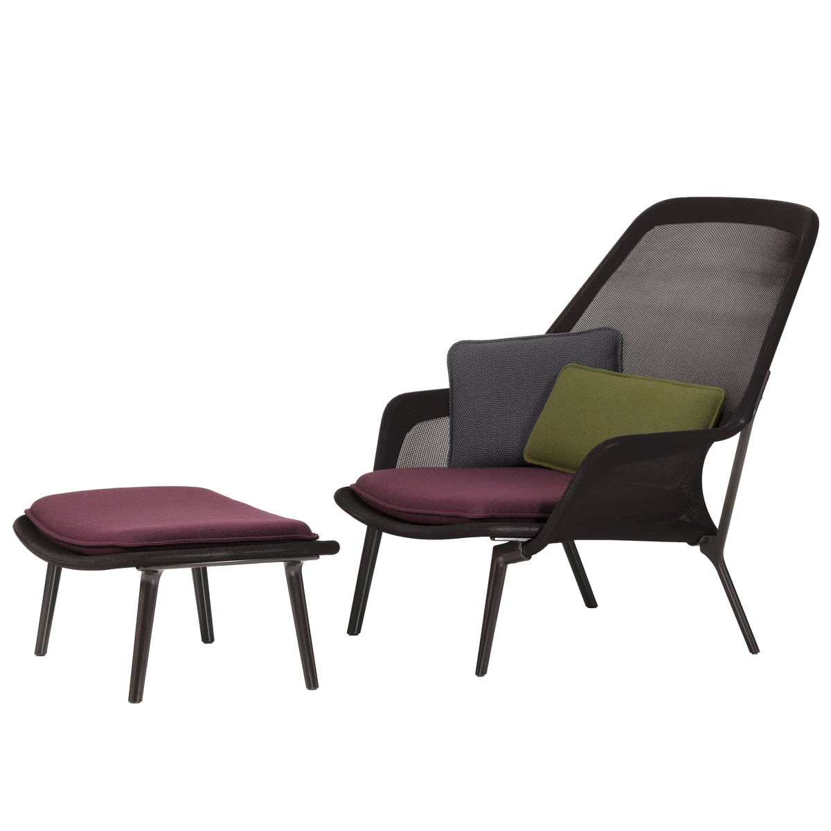 Slow Chair Amp Ottoman Vitra Shop