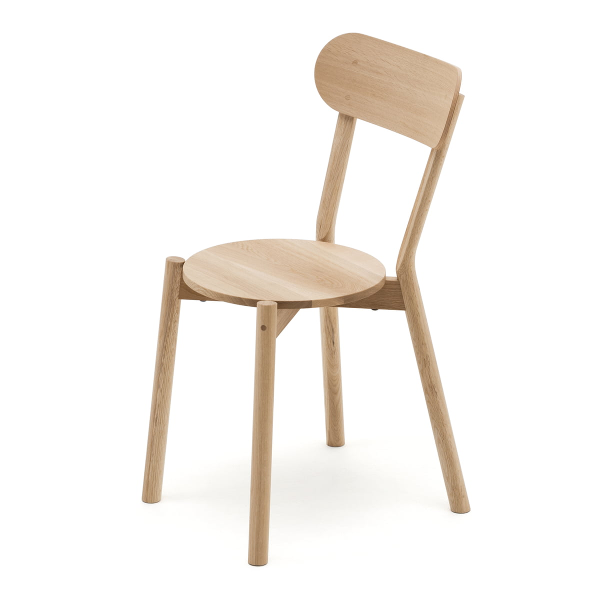 The Karimoku New Standard   Castor Chair In Natural