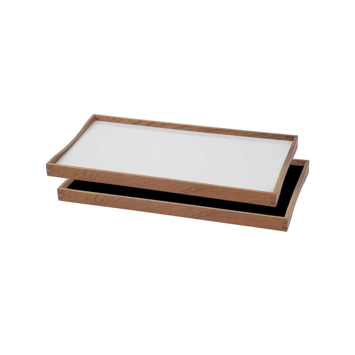 ArchitectMade   Tablett Turning Tray, 23 X 45, White