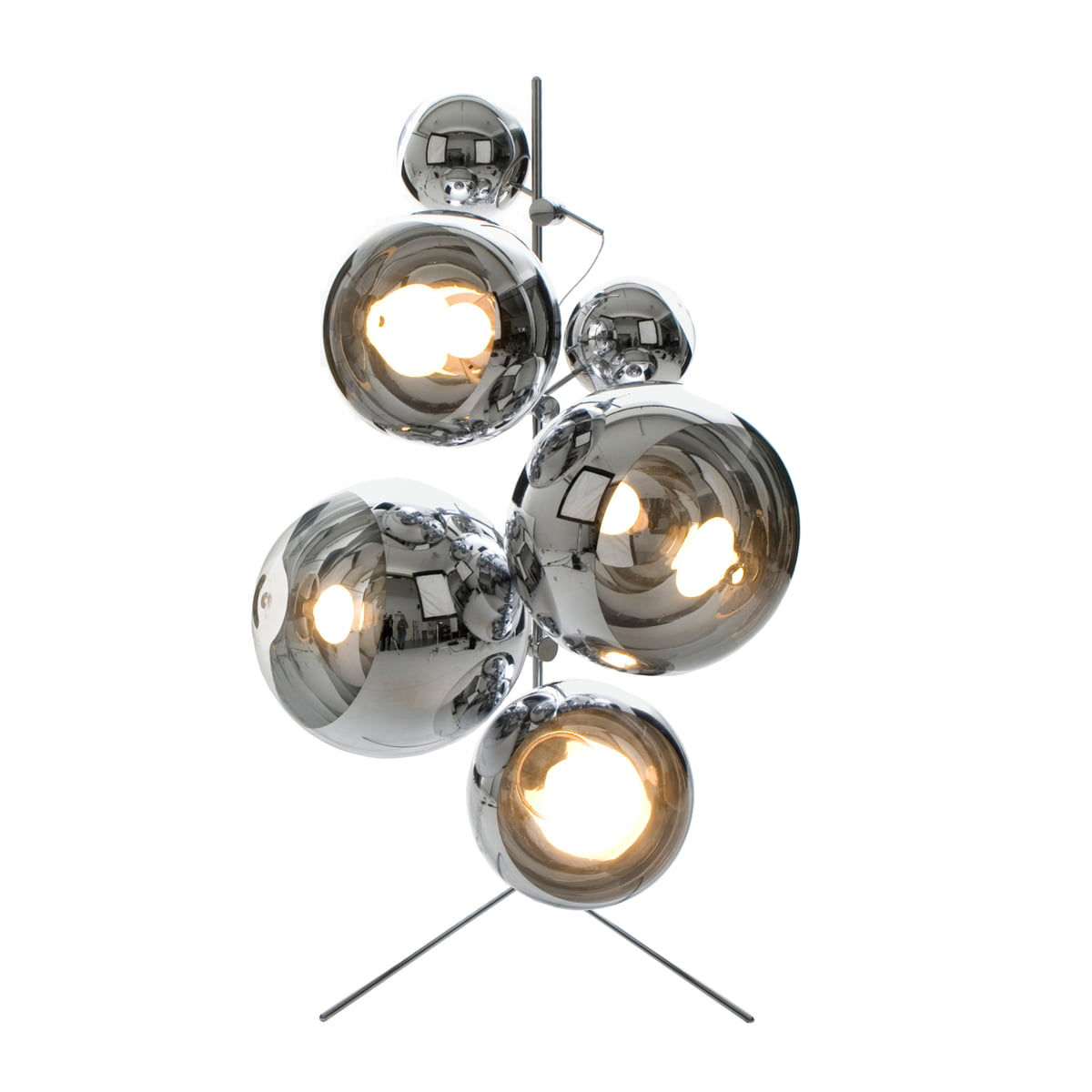 Mirror Ball Pendant Lamp By Tom Dixon