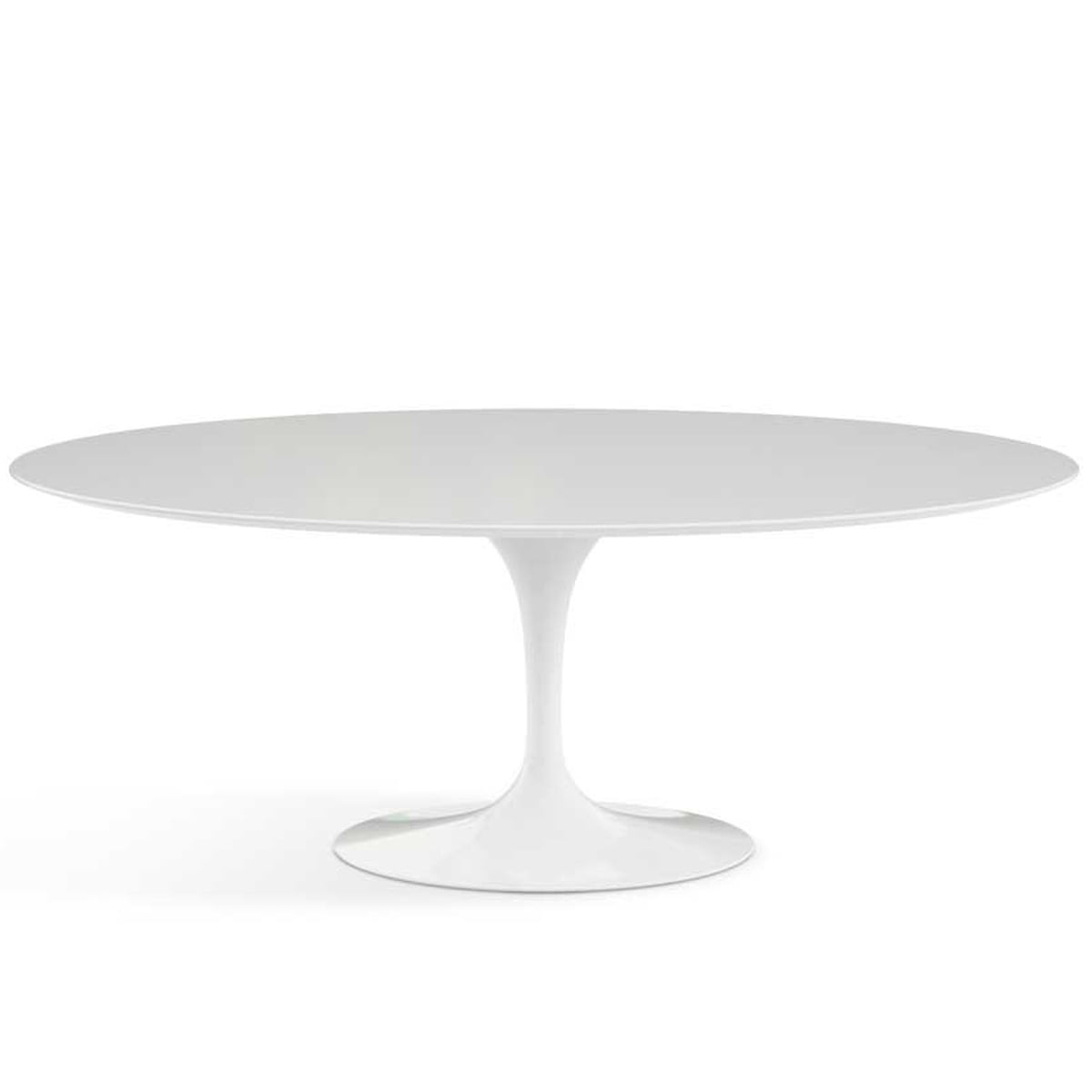 Oval tulip table and chairs saarinen style oval marble for Designer esstisch replica