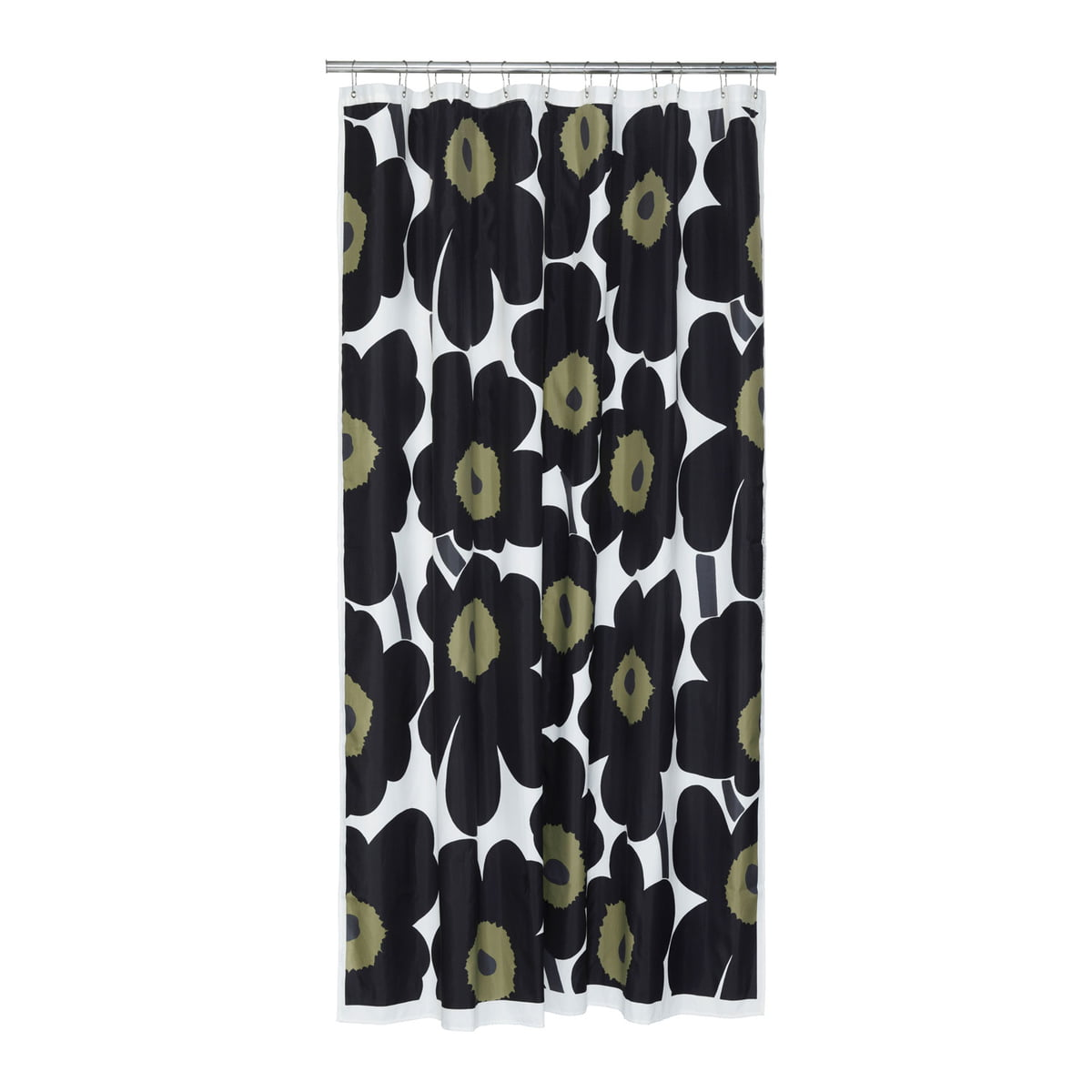 Unikko Shower Curtain By Marimekko