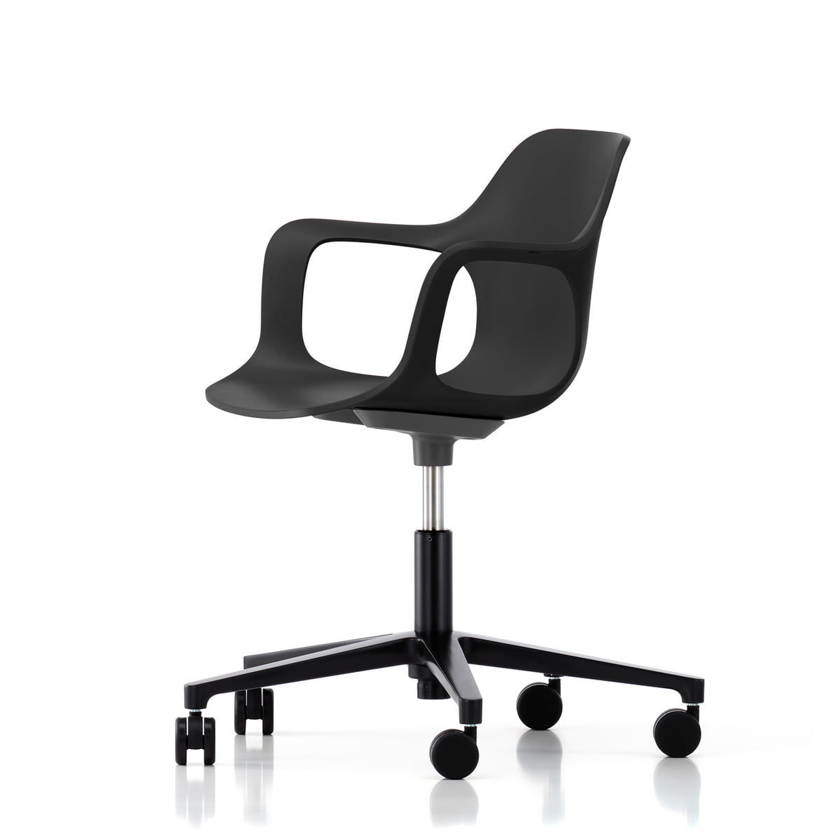 Hal Studio Office Swivel Chair By Vitra In Black