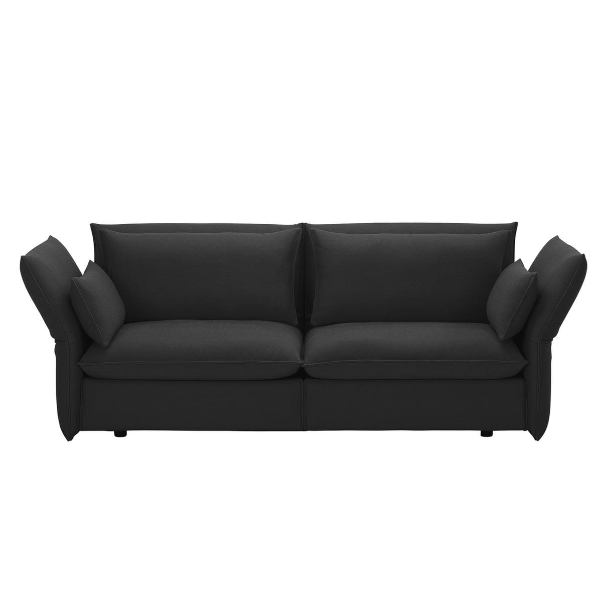 Vitra Mariposa Sofa 2 5 Seats Laser Dark Grey