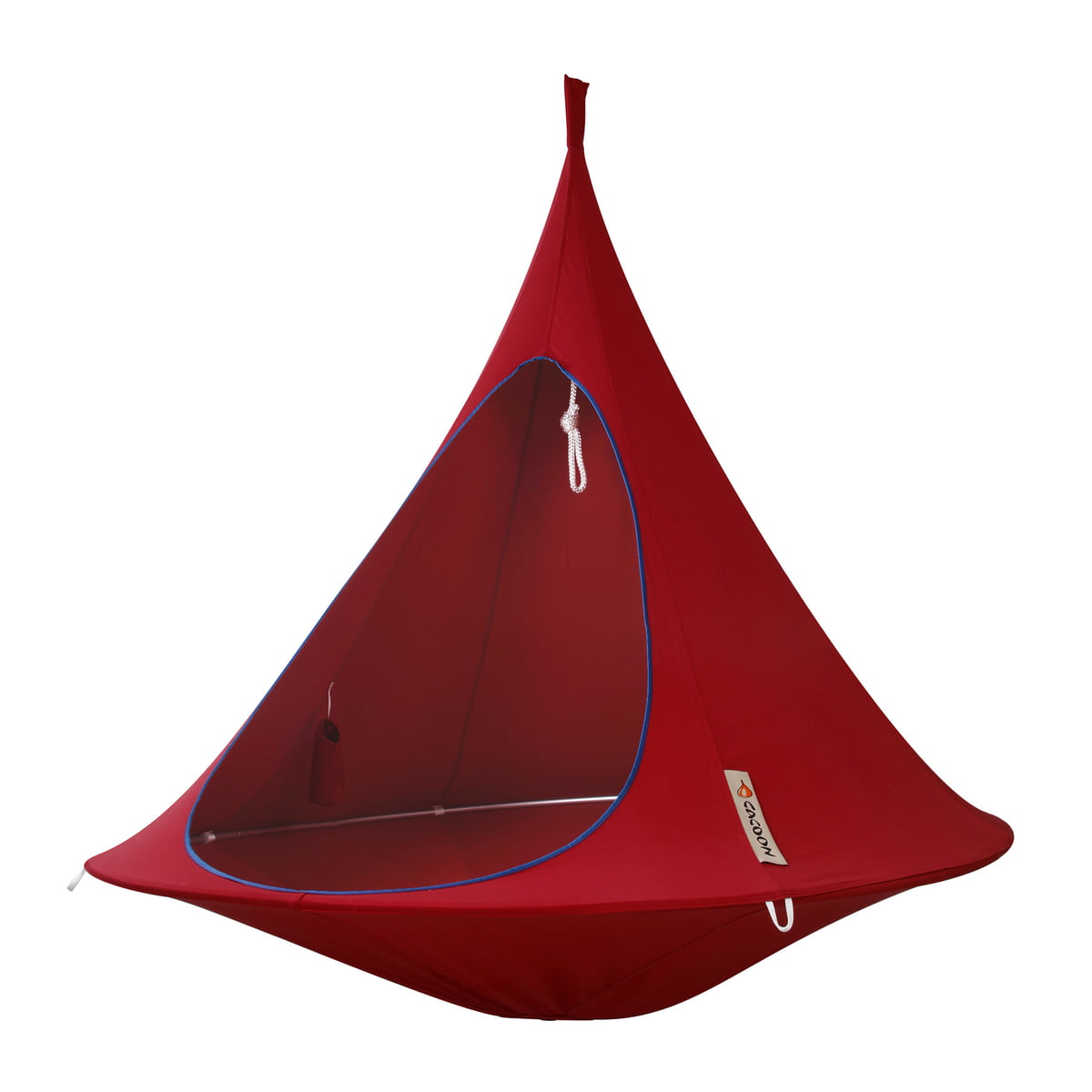 Cacoon   Double Hanging Chair, Chili Red