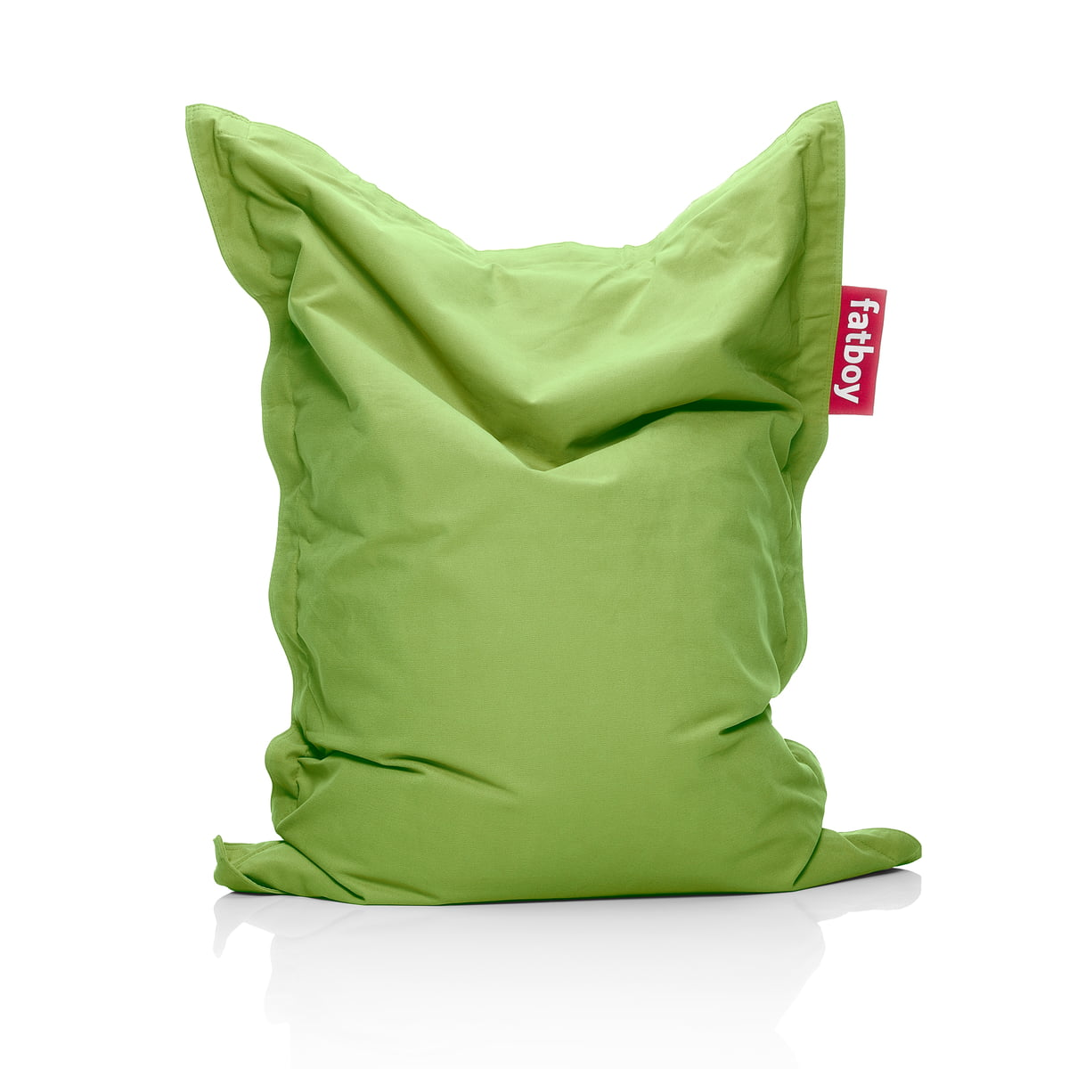 Fatboy   Junior Stonewashed Beanbag, Green