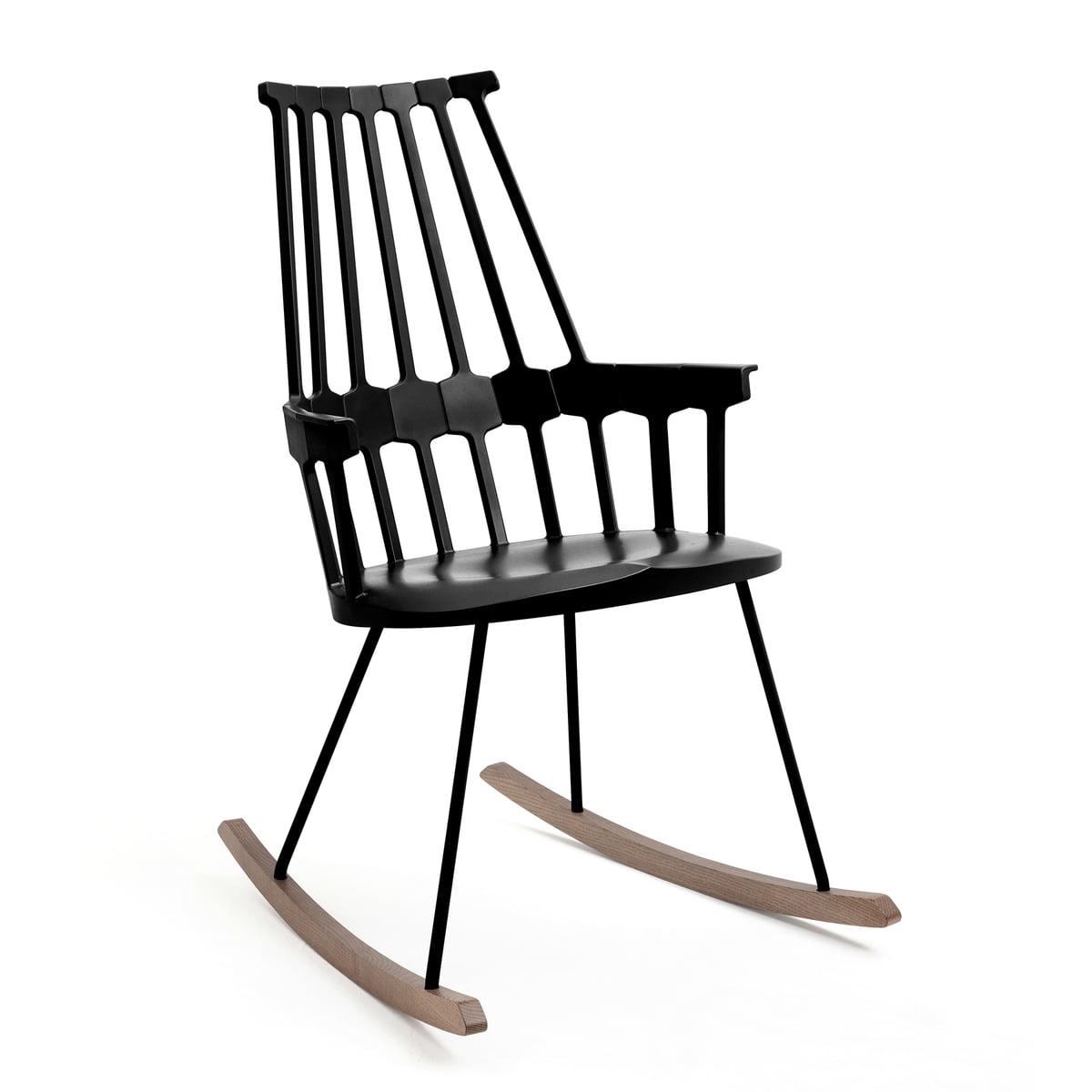 The comback rocking chair by kartell for Rocking chair schaukelstuhl