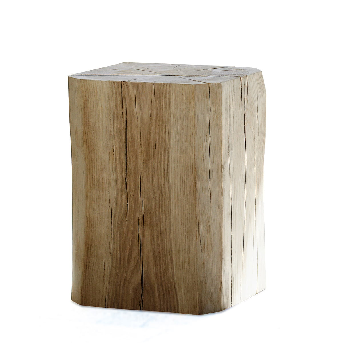 Block stool by jan kurtz in the design shop for Salle de bain bois brut
