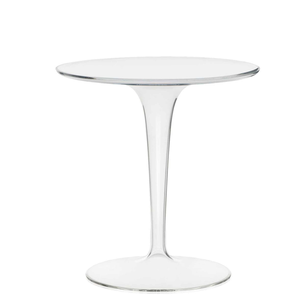 Lovely Kartell   Tip Top Side Table   Transparent