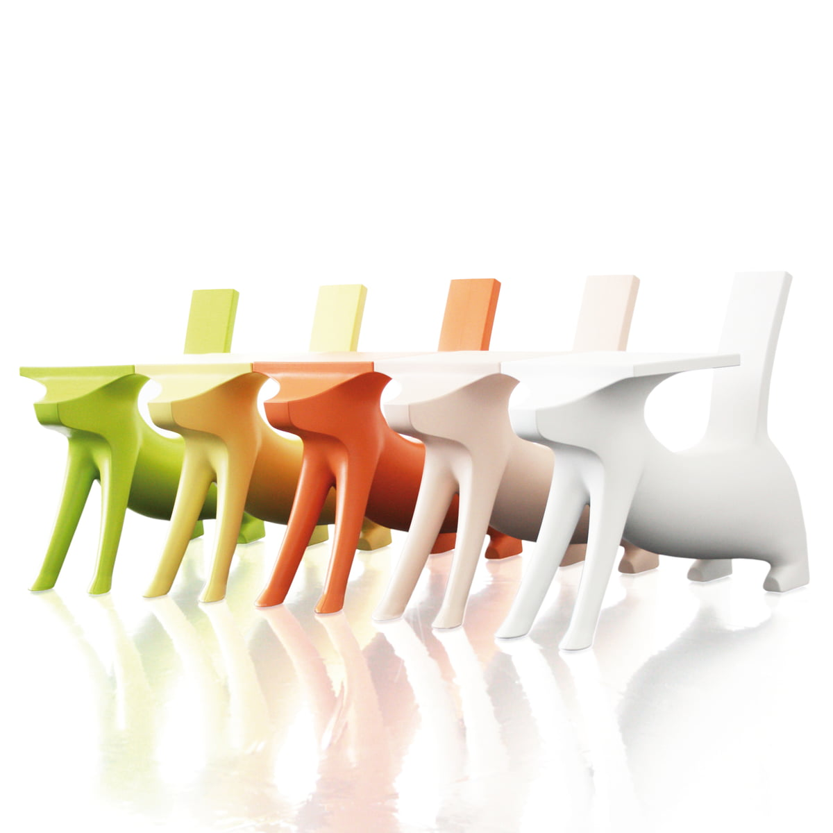 Magis Me Too   Le Chien Savant Chair / Desk For Children
