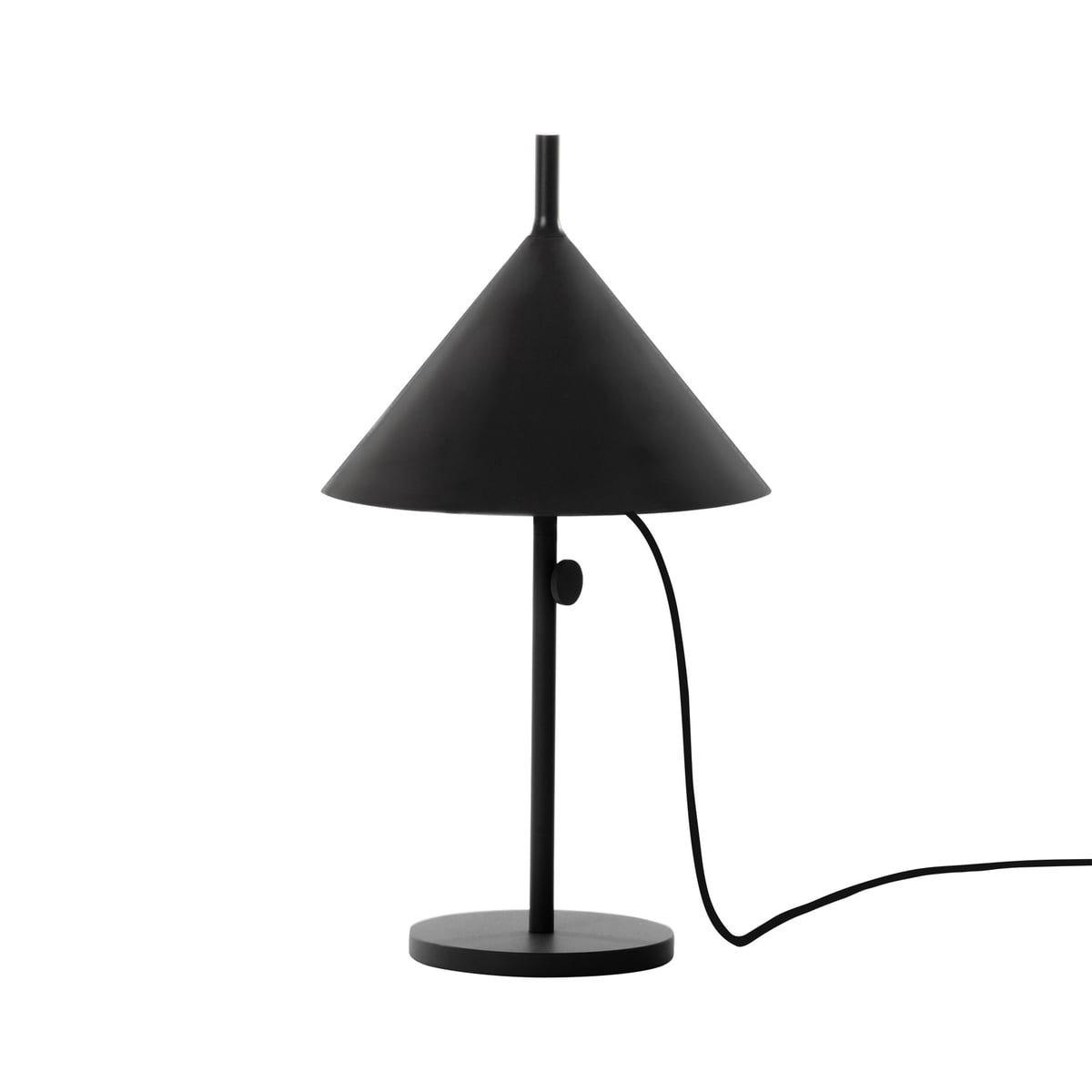 Nendo table lamp cone w132t1 in the shop wstberg nendo table lamp cone w132t1 black aloadofball Image collections