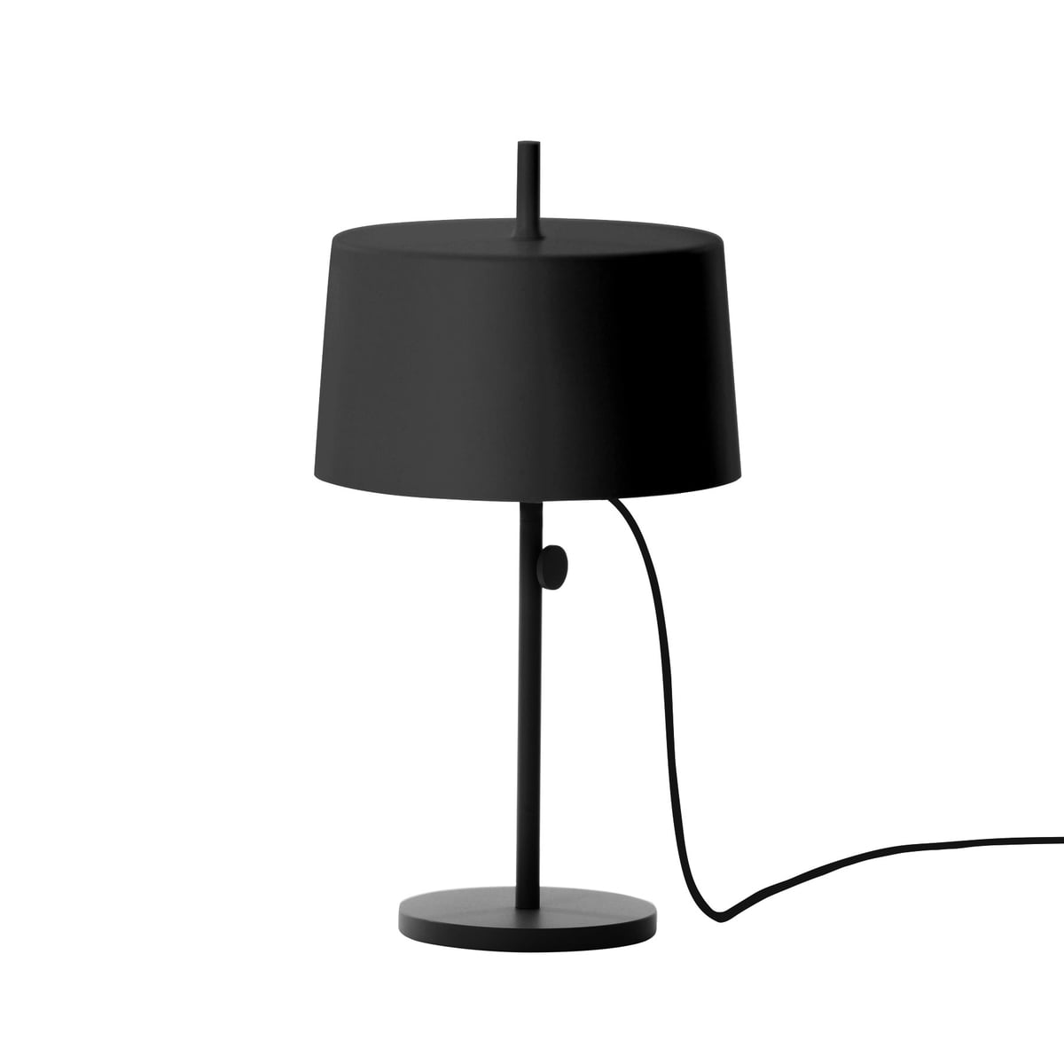 Nendo table lamp cylinder w132t2 in the shop wstberg nendo table lamp cylinder w132t2 black aloadofball Image collections