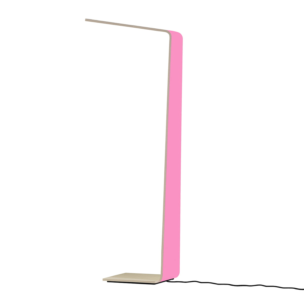 Led 2 Floor Lamp By Tunto In Pink