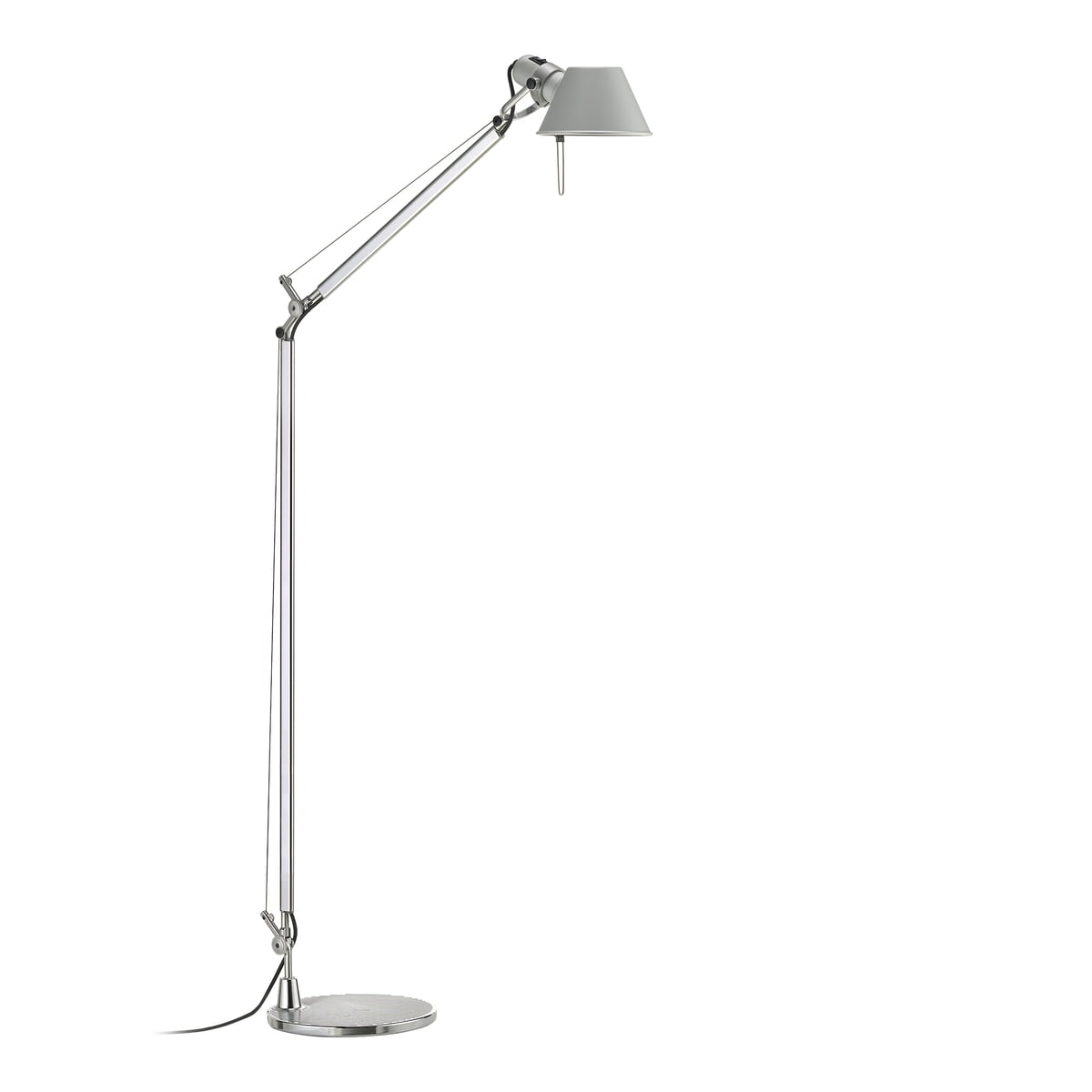 tolomeo lettura led floor lamp by artemide. Black Bedroom Furniture Sets. Home Design Ideas