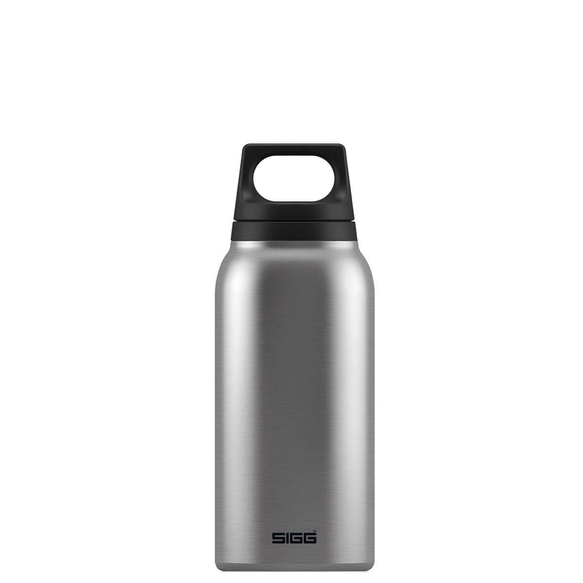 Sigg - Hot & cold thermos flask 0,3 l, brushed