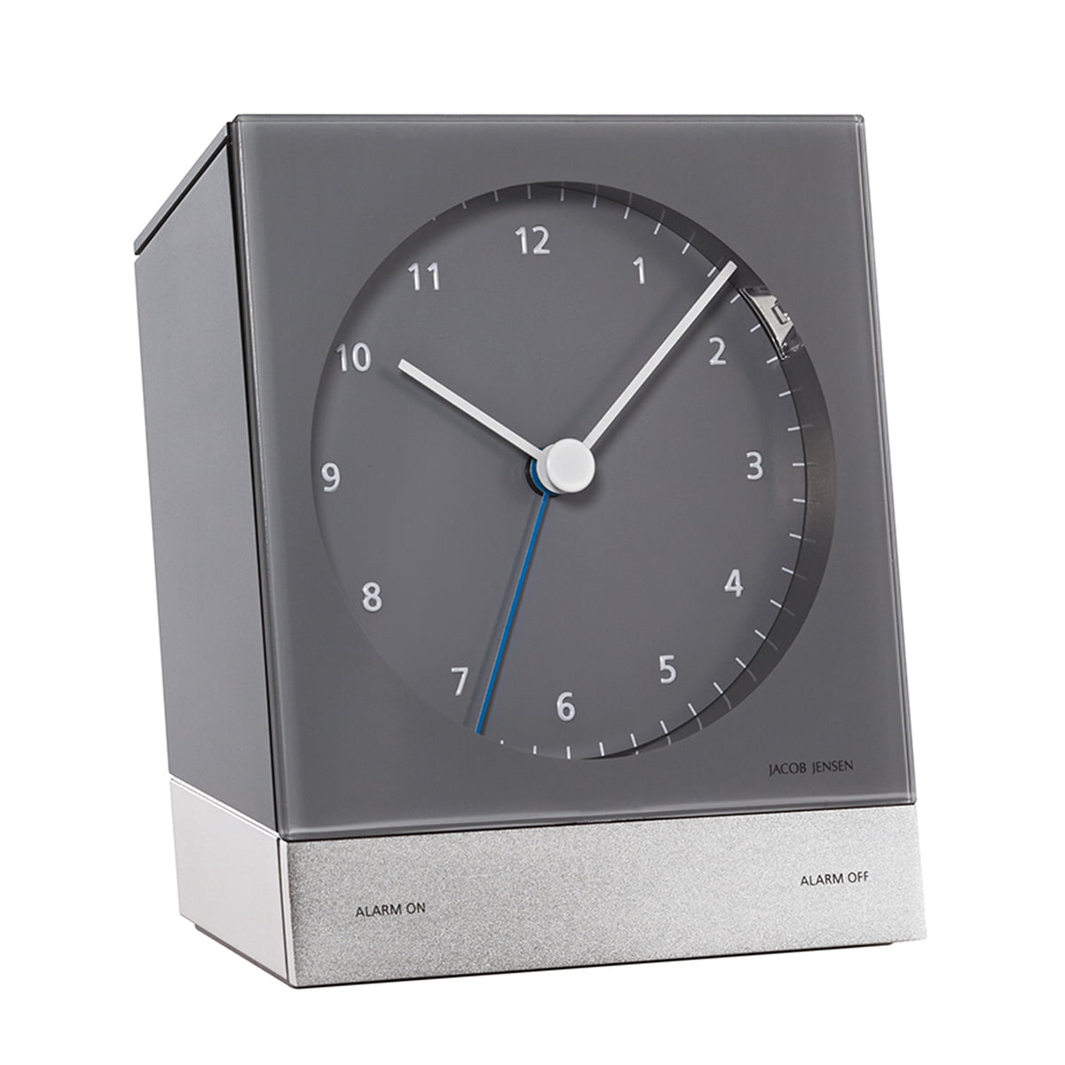 radio controlled alarm clock by jacob jensen. Black Bedroom Furniture Sets. Home Design Ideas