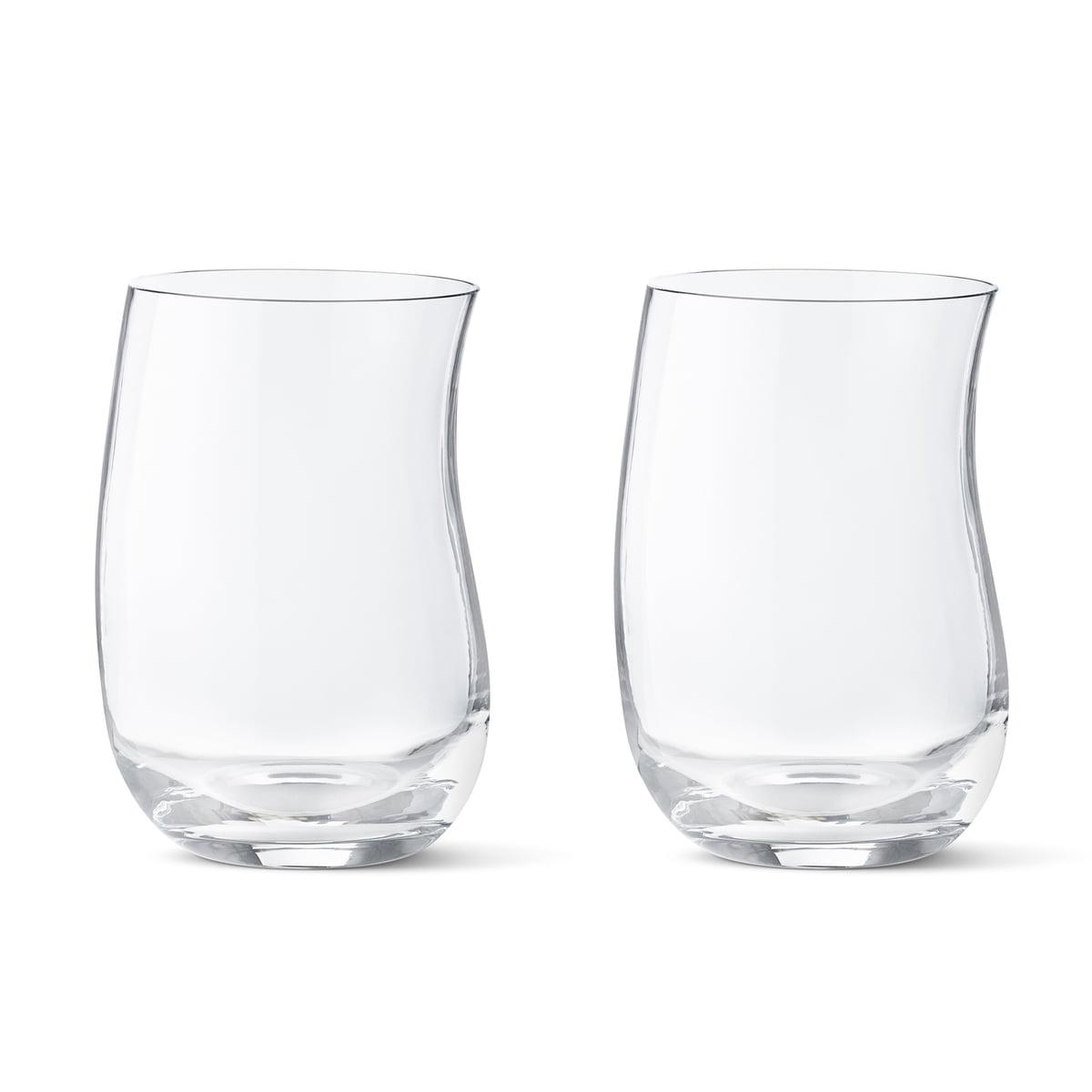Cobra Drinking Glass by Georg Jensen
