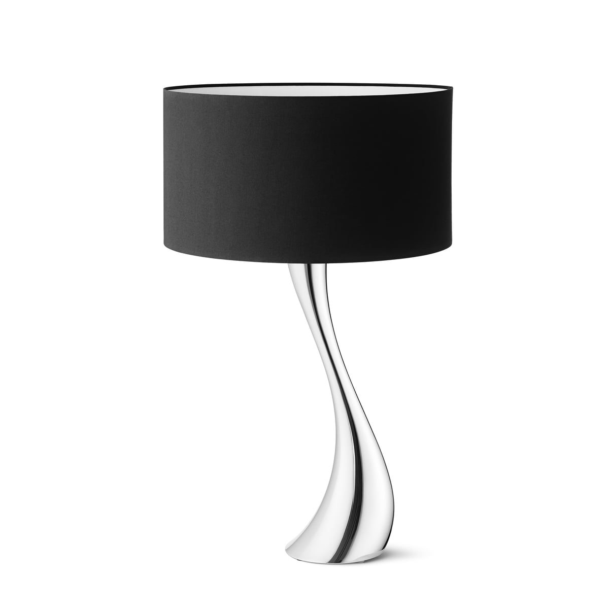 Exceptional Georg Jensen   Cobra Table Lamp, Medium, Black