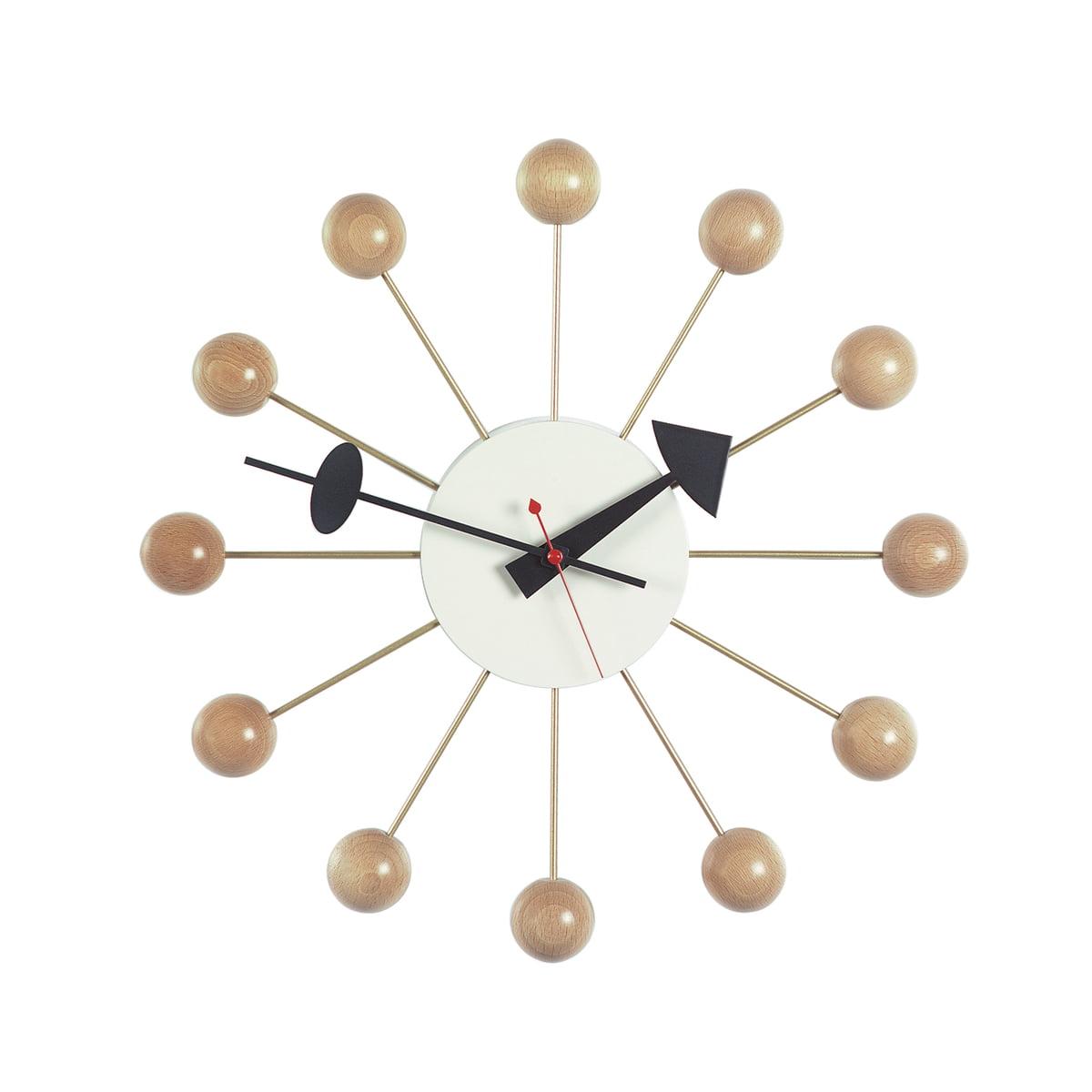 ball clock by vitra connox shop. Black Bedroom Furniture Sets. Home Design Ideas