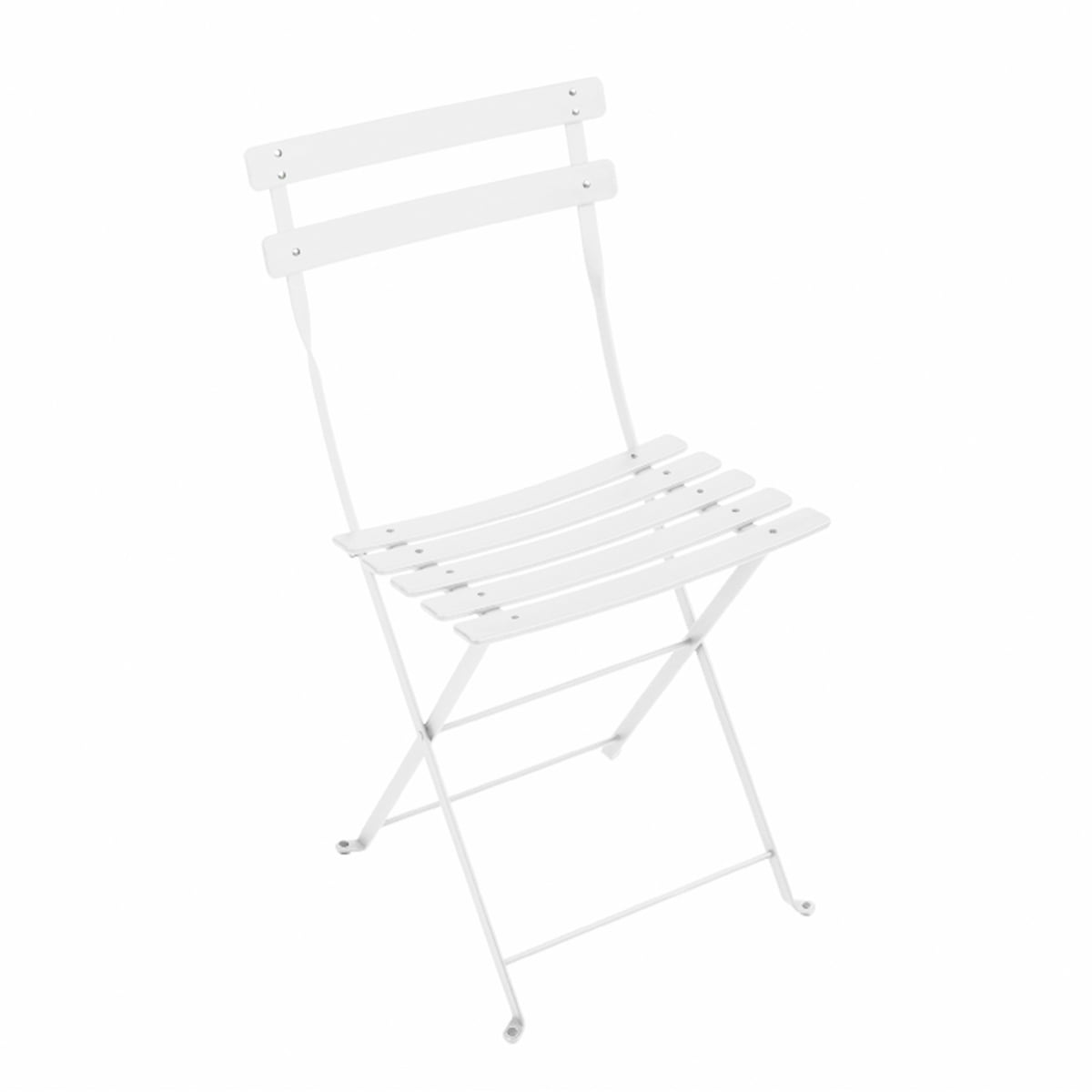 Fermob   Bistro Folding Chair Duraflon, White
