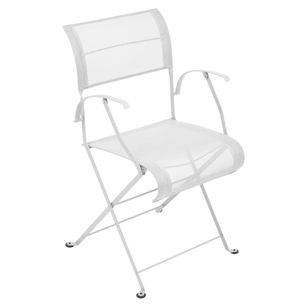 Dune Folding Armchair By Fermob In Cotton White