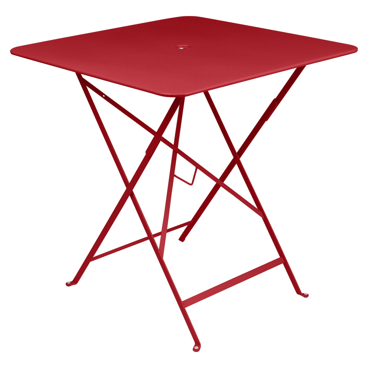 Bistro Folding Table 71 X 71 Cm By Fermob Connox # Table Pliante Style Brasserie