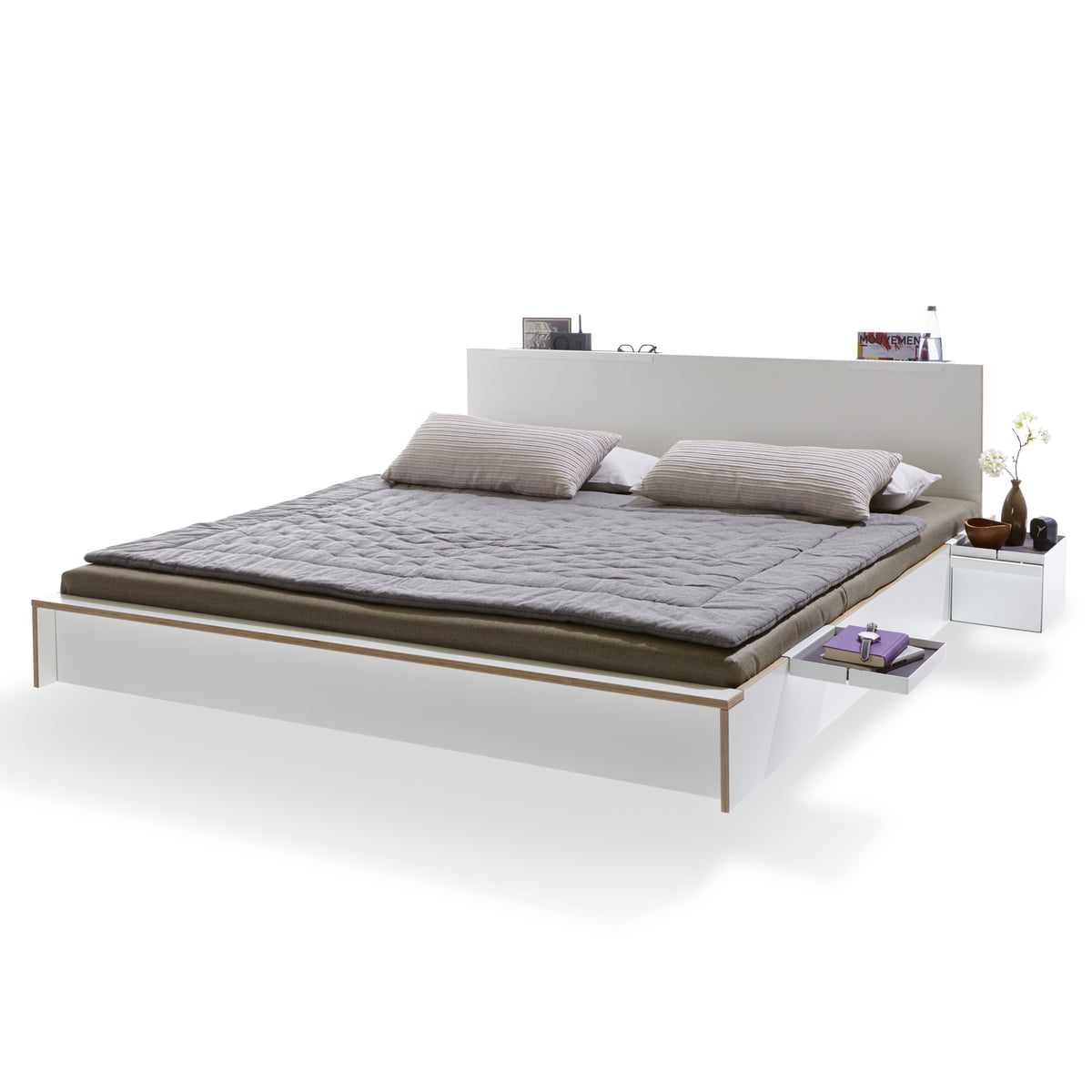 Bedombouw 140 Bij 200.The Flai Bed By Muller Mobelwerkstatten In The Shop
