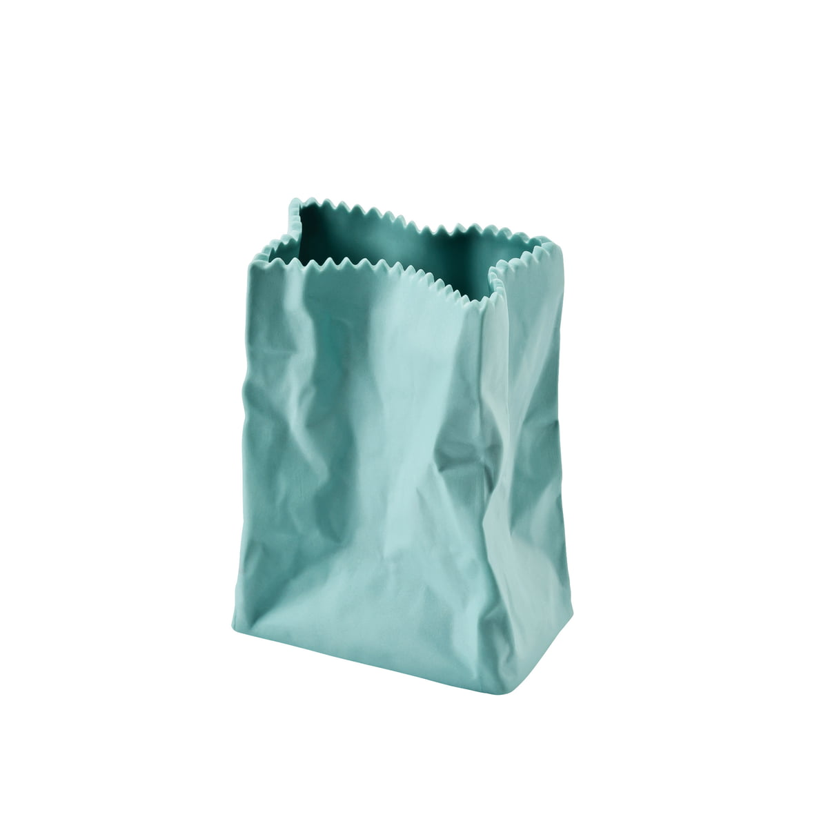 The coloured paper bag vase by rosenthal rosenthal paperbag 10cm mint floridaeventfo Gallery