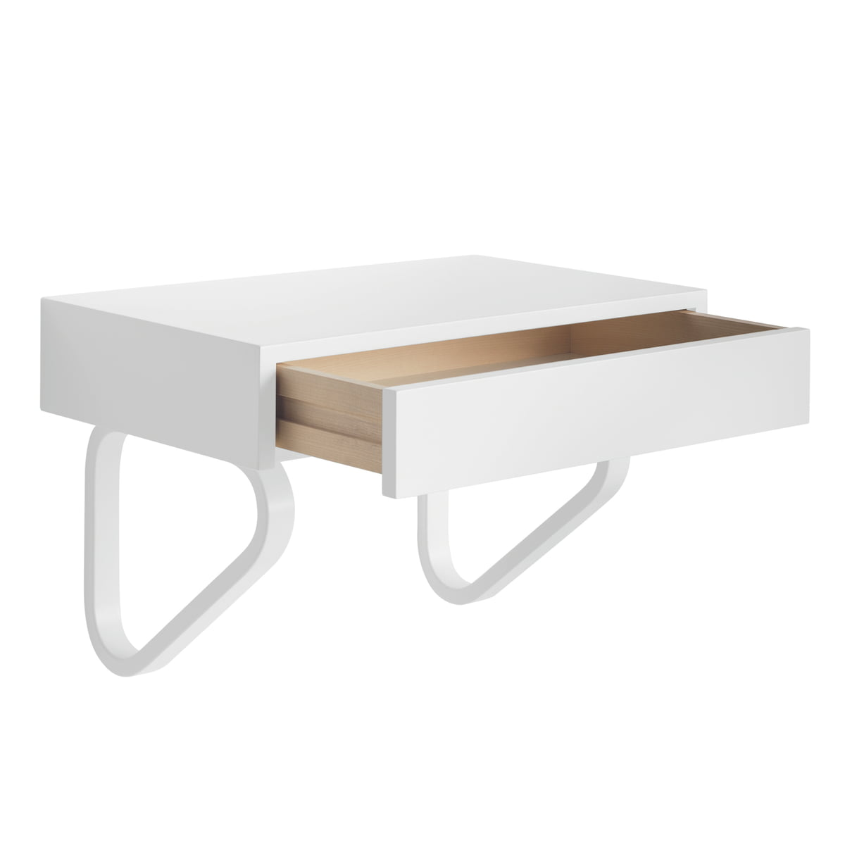 The 114b wall drawer by artek in the shop for Console design avec tiroir