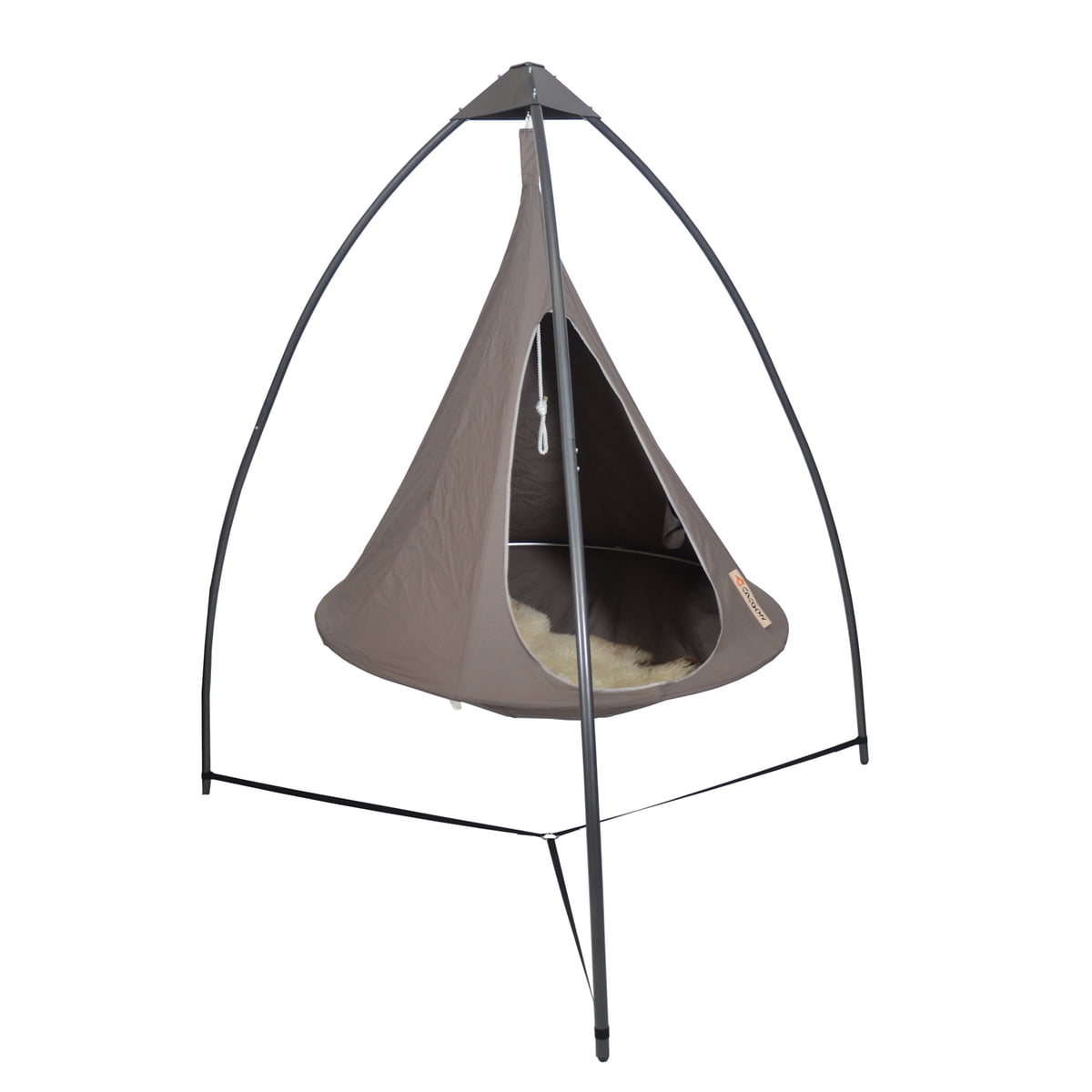 cacoon tripod for swing chair metal hanging chair single - Metal Swing Frame