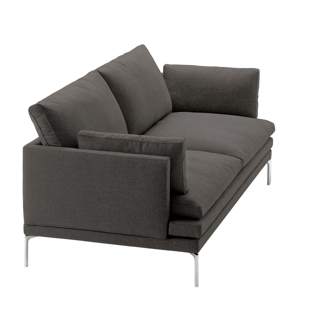 The william sofa by zanotta in the shop for Sofa 120 cm lang