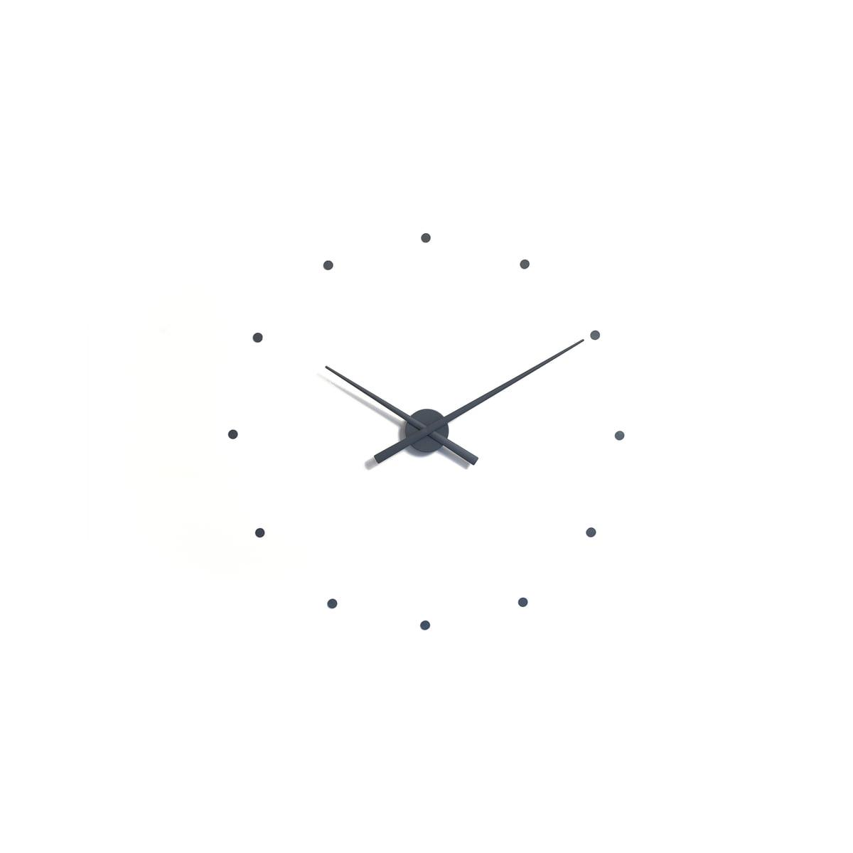 Oj mini wall clock by nomon in the shop oj mini wall clock by nomon in grey amipublicfo Choice Image