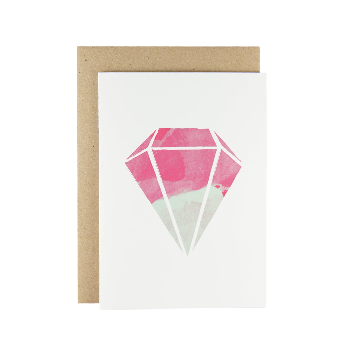 Card With Diamonds In The Shop