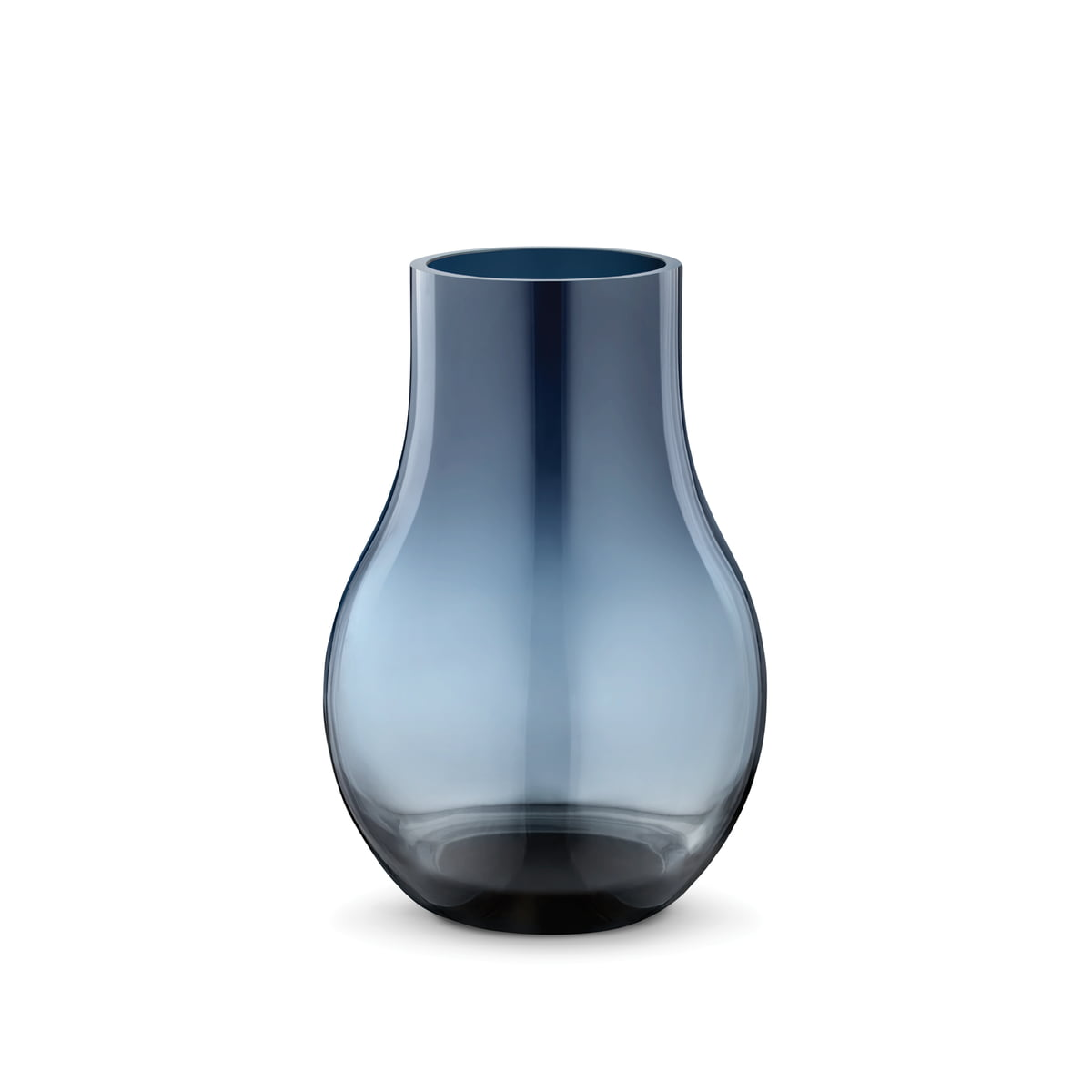 Bodenvase Glas the cafu vase out of glass by georg