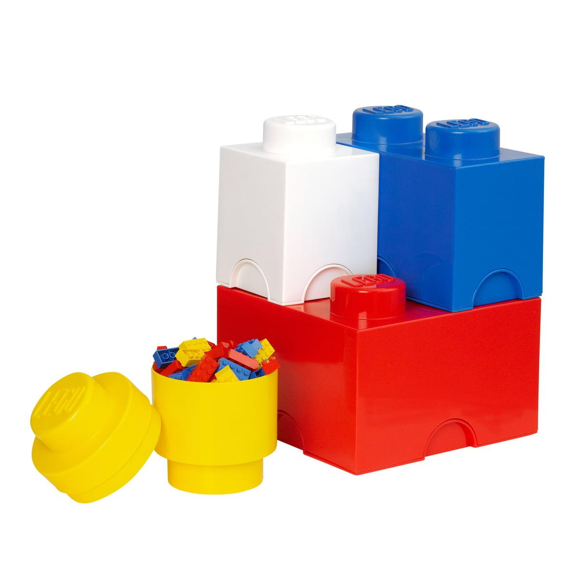 storage brick multipack set of 4 by lego. Black Bedroom Furniture Sets. Home Design Ideas