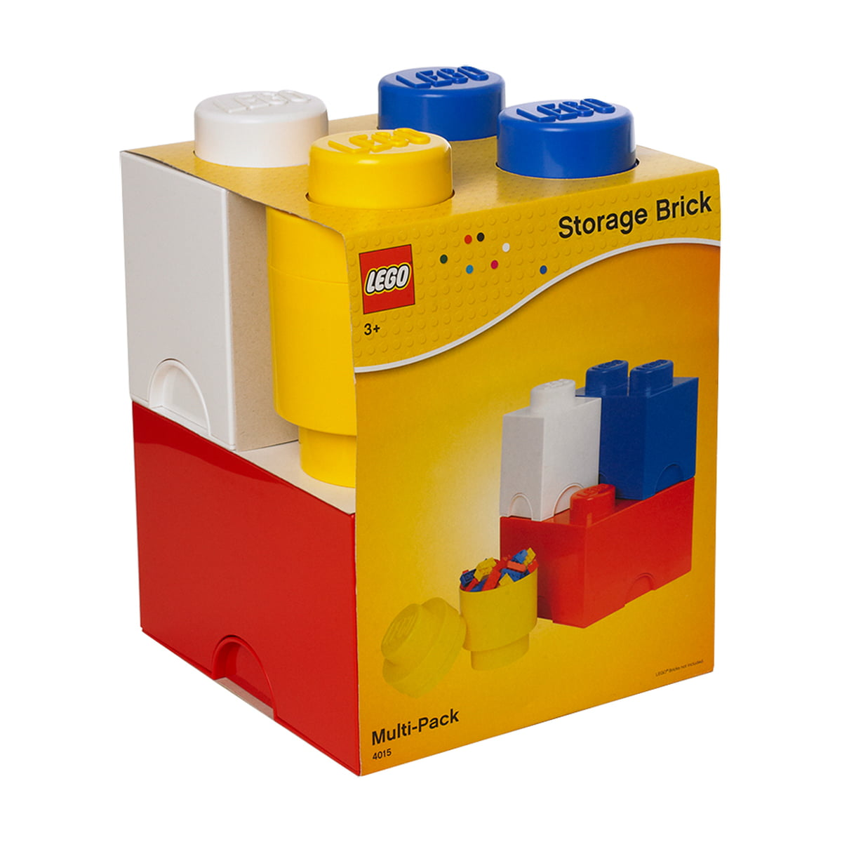 Attirant Lego   Storage Brick, Pack Of 4
