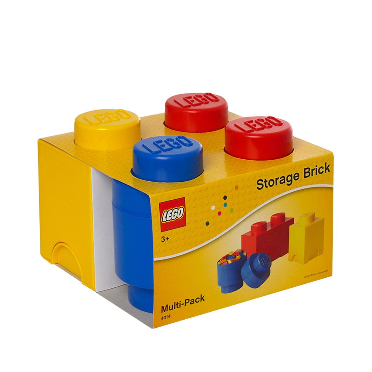 storage brick multipack set of 3 by lego. Black Bedroom Furniture Sets. Home Design Ideas