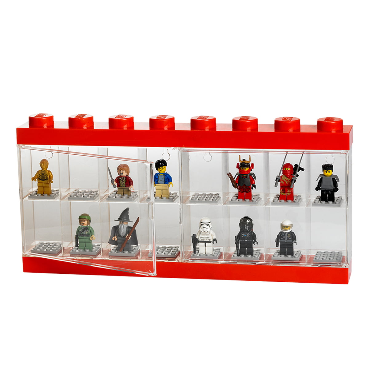 lego storage box minifigure display case. Black Bedroom Furniture Sets. Home Design Ideas