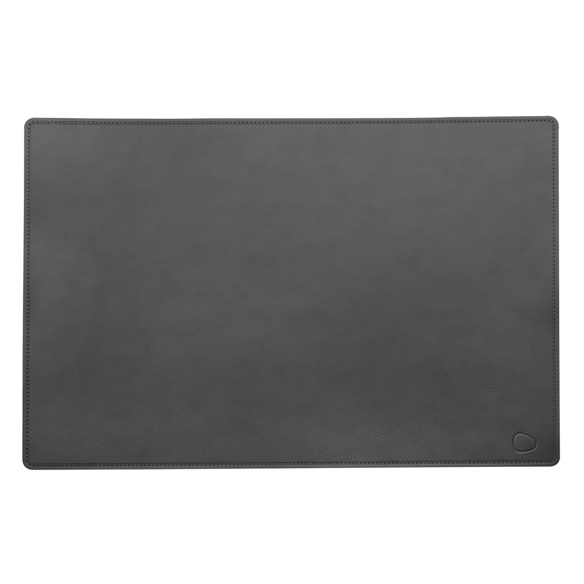 Work Mat Square L 54 X 74 Cm Made Of Cloud Leather In Anthracite