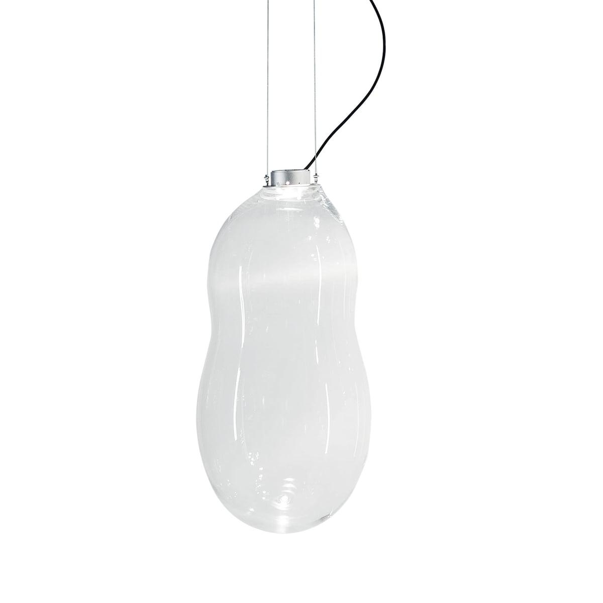 Dark the baby bubble pendant light transparent excl driver