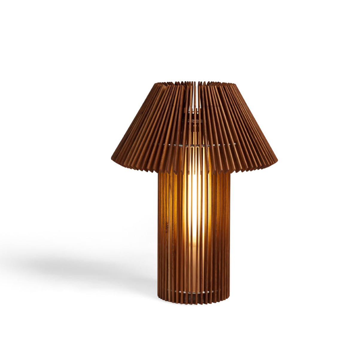 Wood lamp floor and table lamp by skitsch for Harbin wood floor lamp