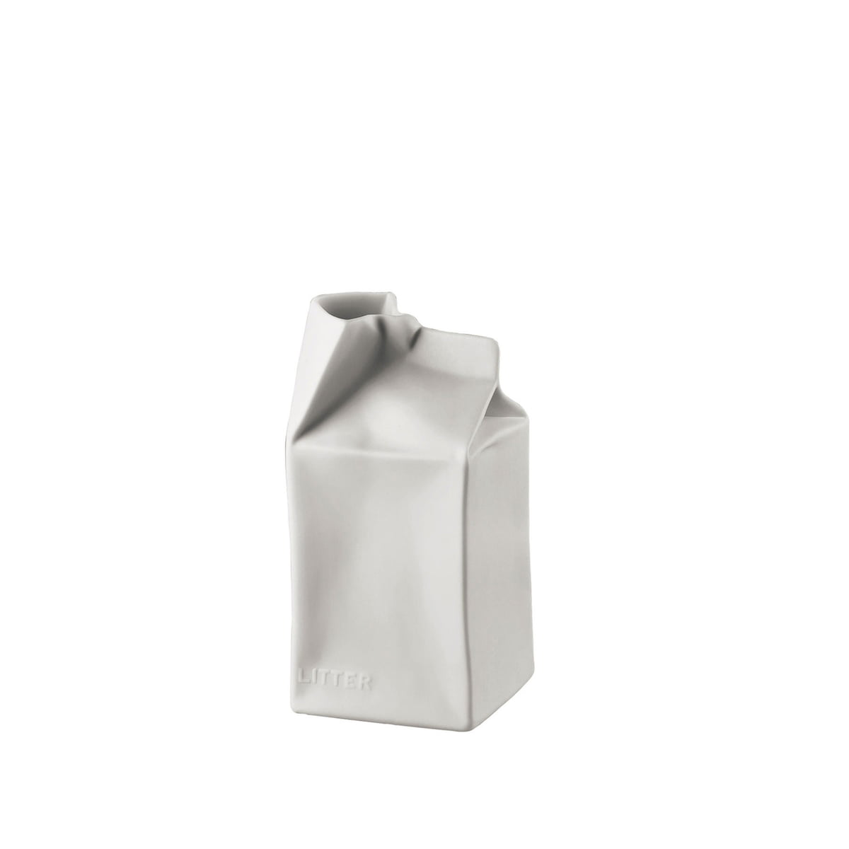 Pacco bello vase by rosenthal at the shop rosenthal paper bag vase 14 cm white matt polished floridaeventfo Gallery