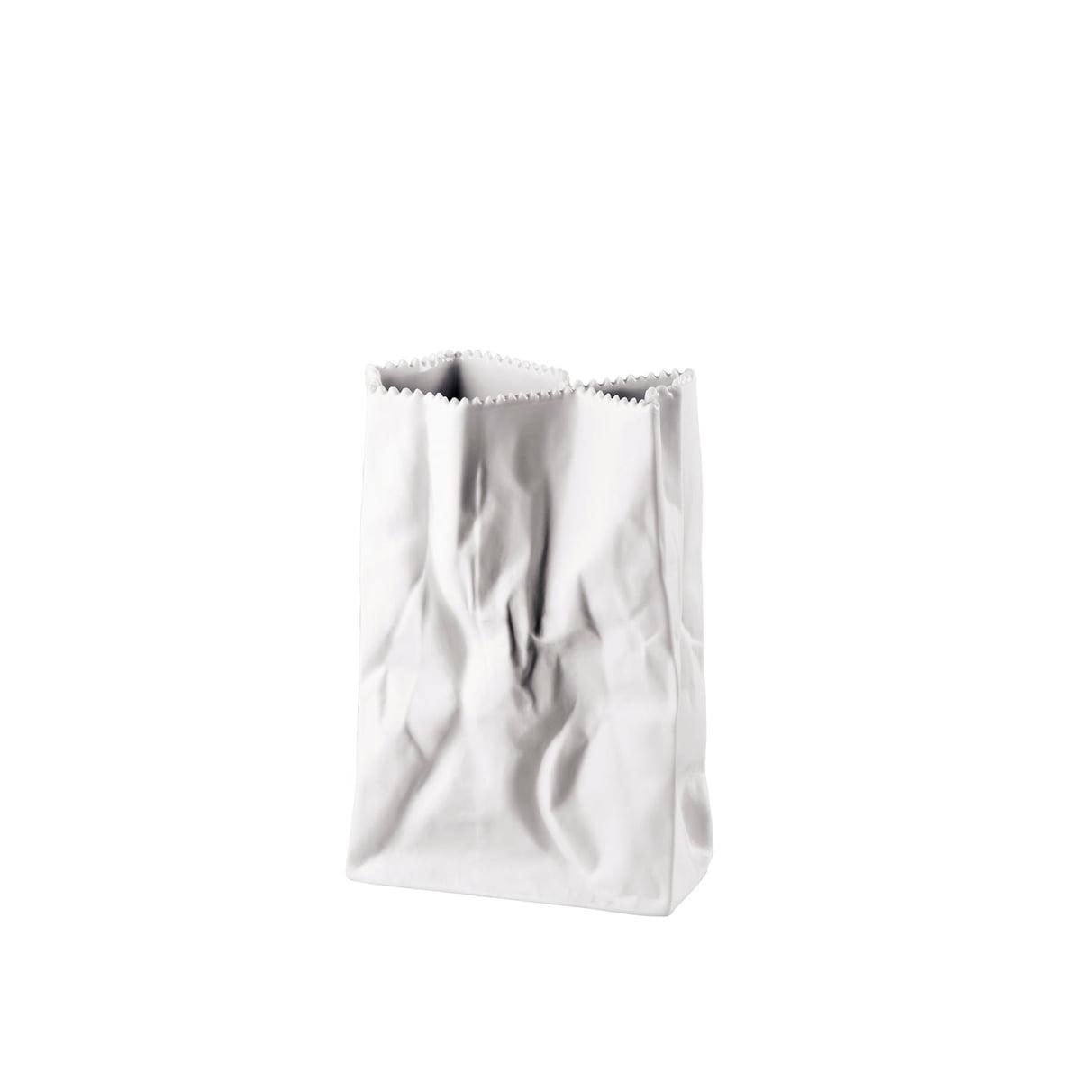 bag vase matt polished by rosenthal. Black Bedroom Furniture Sets. Home Design Ideas